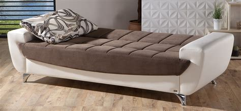 the best futon legro best brown convertible sofa bed by istikbal furniture