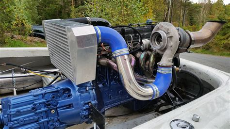Boat With Car Engine by Ski Boat With A Mercedes Turbo Diesel I6 Engine Depot