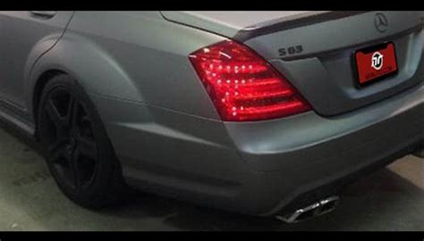 Mercedes Facelift Led Tail Lights Automobile