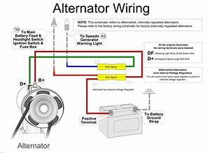 Ford External Regulator Wiring Diagram