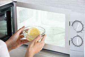 Nettoyer Micro Onde Citron : voici comment nettoyer son micro ondes en seulement ~ Melissatoandfro.com Idées de Décoration