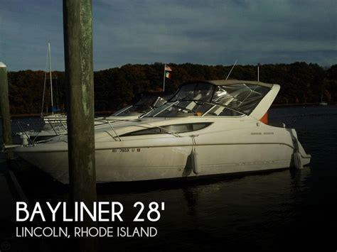 Outboard Motors For Sale Rhode Island by For Sale Used 2001 Bayliner 2855 Ciera Sunbridge In