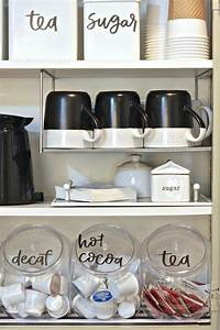 best 25 coffee nook ideas on pinterest coffee area tea With what kind of paint to use on kitchen cabinets for pantry labels stickers