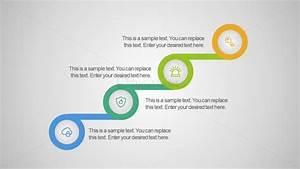 Editable Process Diagram Free Flat Infographics