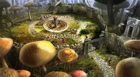 Fantasy Alice In Wonderland Hd Wallpaper Background