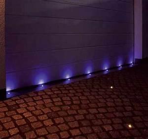 led licht garten einbaustrahler licht in fliesen kuche dot With französischer balkon mit led spots garten