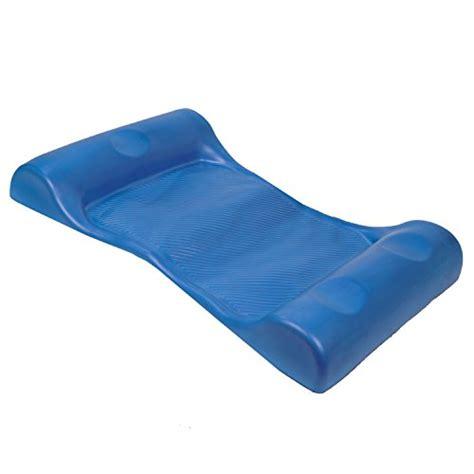 Water Hammock Blue Intl hammock foam comfort pool float unsinkable aqua water