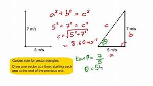 Finding a resultant vector - YouTube