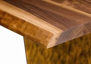 Tischplatte Mit Baumkante : kirschholz tisch massiv haus ideen ~ Frokenaadalensverden.com Haus und Dekorationen