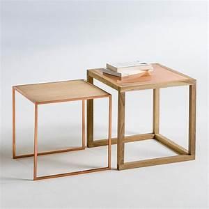 tables basses gigognes elori la redoute interieurs table With table gigogne la redoute