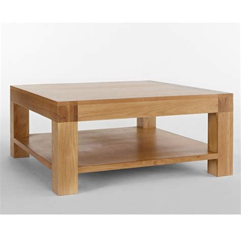 chunky square coffee table nevada square chunky blonde wooden coffee table buy