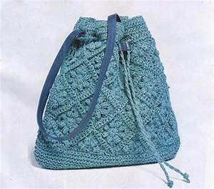 Crochet Bag Pattern Only  Crochet Tote Pattern  Granny
