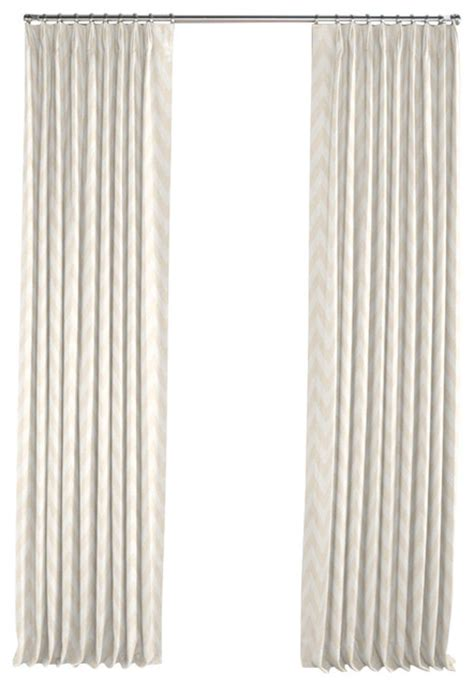gold and white chevron curtains metallic white and gold chevron pleated curtain modern