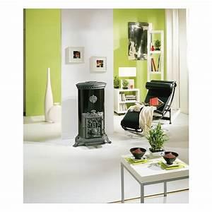 Poele A Bois Petit : po le bois petit godin 3727 brun majolique 10 kw ~ Premium-room.com Idées de Décoration