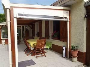 Bache Transparente Pour Terrasse : b che de terrasse de mobil home et avanc e de maison ~ Dailycaller-alerts.com Idées de Décoration