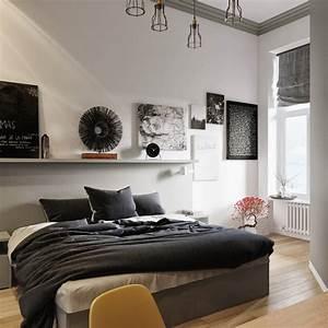 Schlafzimmer Ideen Weiß : ideen f r dein schlafzimmer in schwarz wei ~ Michelbontemps.com Haus und Dekorationen