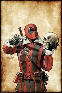 Comic-con, 2016, Marvel, Gives, Deadpool, A, Shakespearean, Makeover