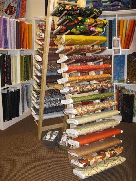fabric bolt holder racks    stitch  time  franklin nc   pa wood furniture