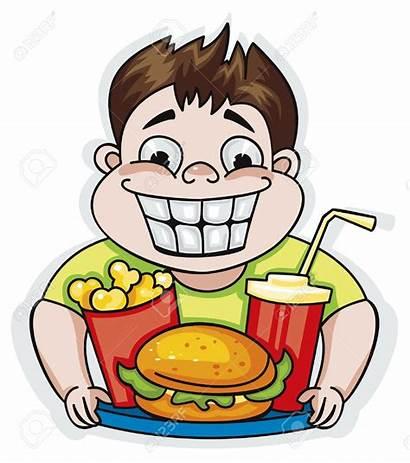 Clipart Eating Clip Eat Fast Restaurant Burger