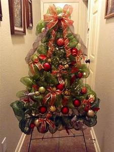 Christmas Tree With Deco Mesh Real Ideas