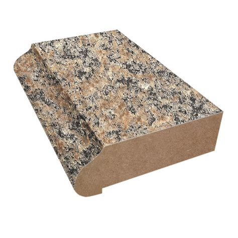 ogee edge countertop trim 6222 brown granite