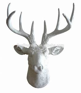 Tete D Animal Murale : mini r sine deer head t te de cerf cerfs bois t te d 39 animal montage mural d coration murale ~ Teatrodelosmanantiales.com Idées de Décoration