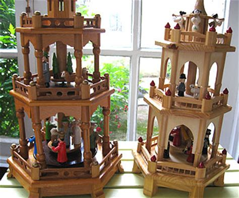the wonders of german christmas pyramids auction finds