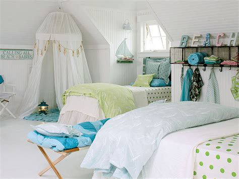 26 Cute Beach Style Kid's Bedroom Design Ideas