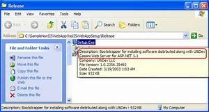 Distributing ASP.NET 1.1 Applications with UltiDev Cassini ...