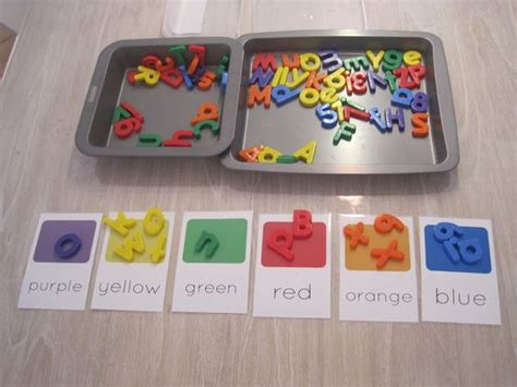 preschool literacy activities 5 literacy activities with magnetic letters for toddlers 837