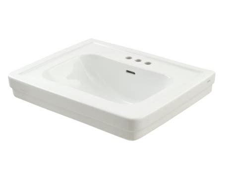toto lt530 4 promenade bathroom sink for pedestal with 4