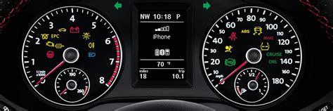 dashboard indicator lights owasco volkswagen