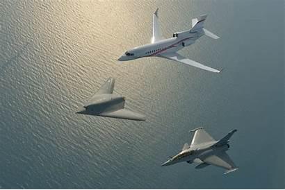 Dassault 7x Rafale Falcon Neuron Wallpaperup Sign