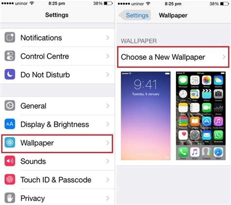 set homepage on iphone how to change lock screen wallpaper on iphone 6 6 plus