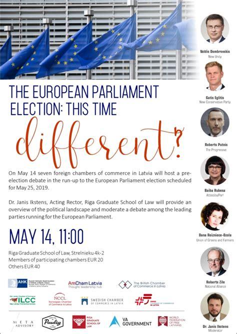 PBLA atbalsta Eiropas parlamenta vēlēšanu debates, otrdien ...