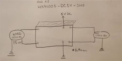 switches how to wire a 5v 6 pin relay switching 110v ac