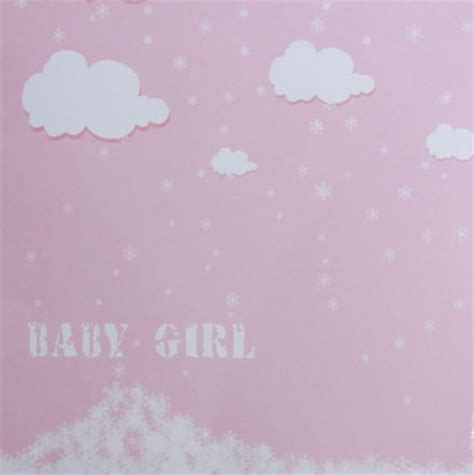 baby girl scrapbook paper design craft paper design