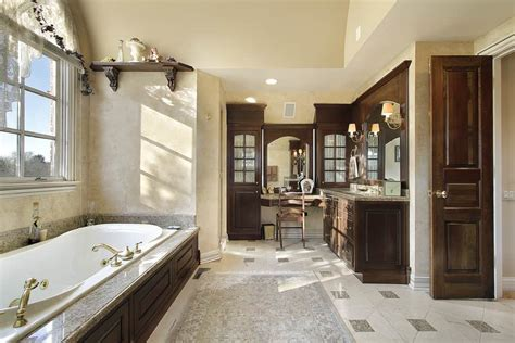 large luxury primary bathrooms  cost  fortune