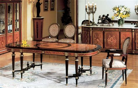 spanish louis xvi style dining roomtop   italian