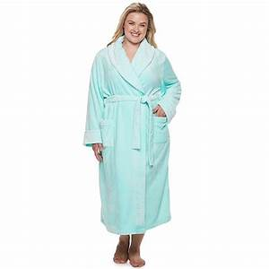 Plus Size Sonoma Goods For Life Long Plush Wrap Robe