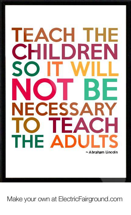 education quotes  abraham lincoln quotesgram