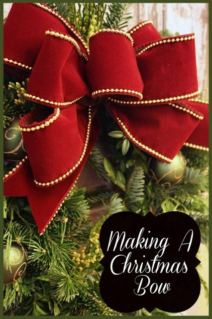 ways    christmas tree bow topper guide patterns