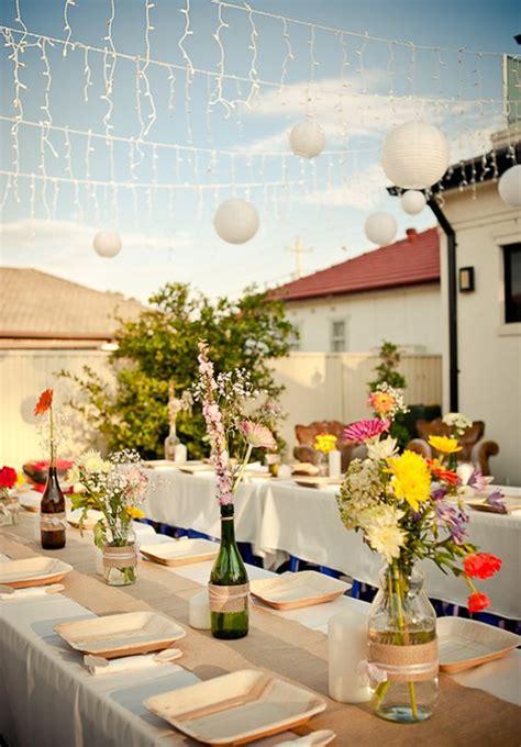 Inexpensive Backyard Wedding by Inexpensive Outdoor Weddings Affordable Wedding