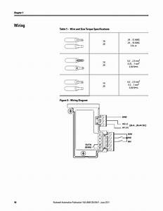 Wiring  Table 1 - Wire And Size Torque Specifications  Figure 5