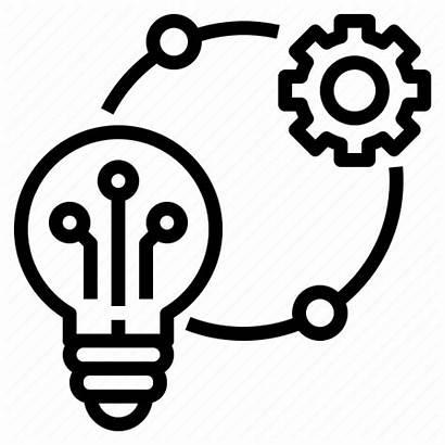 Icon Technology Innovation Technique Idea Creative Lightbulb