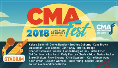 country fan fest 2017 lineup cma fest 2018 lineup acountry