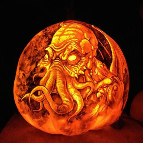 amazing  spooky halloween pumpkin carvings