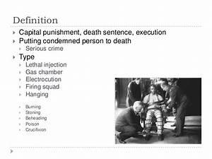 Presentation death penalty (english)