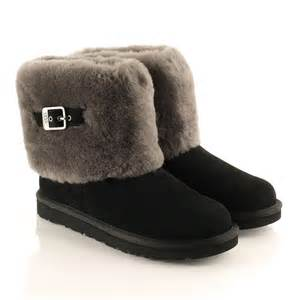 womens ugg boots target ugg black ellee s flat cuff boot