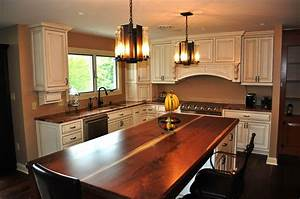 Custom French Country Style Kitchen by London Grove